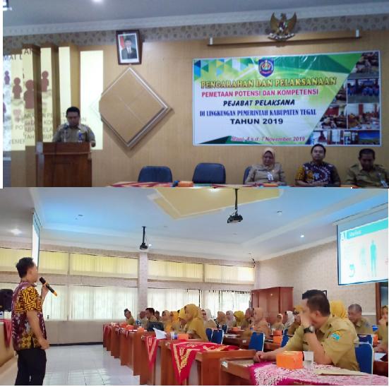 Pemetaan Potensi dan Kompetensi Periode II Kabupaten Tegal 2019