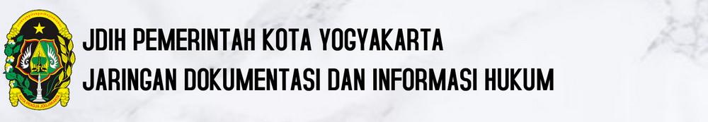 Jaringan Dokumentasi dan Informasi Hukum Pemerintah Kota Yogyakarta